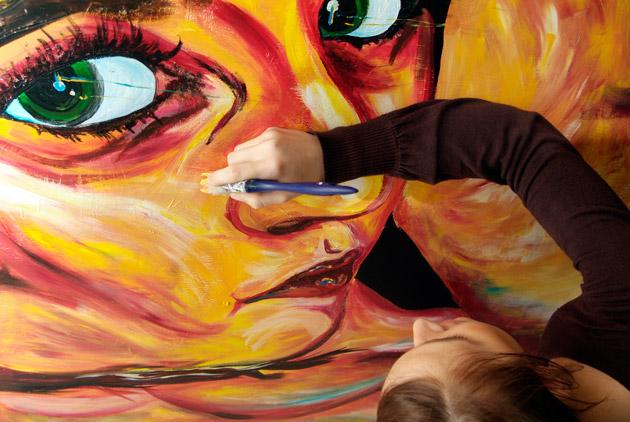 taller de pintura de málaga