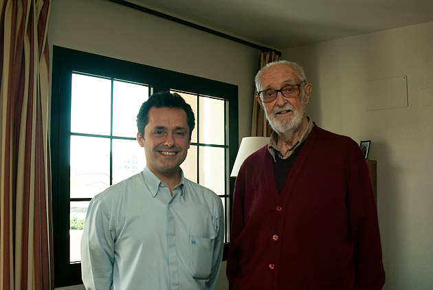 José Luis Sampedro y Rafael Caumel