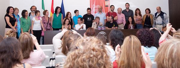 Desahuciados, presentación en el Centro Andaluz de las Letras